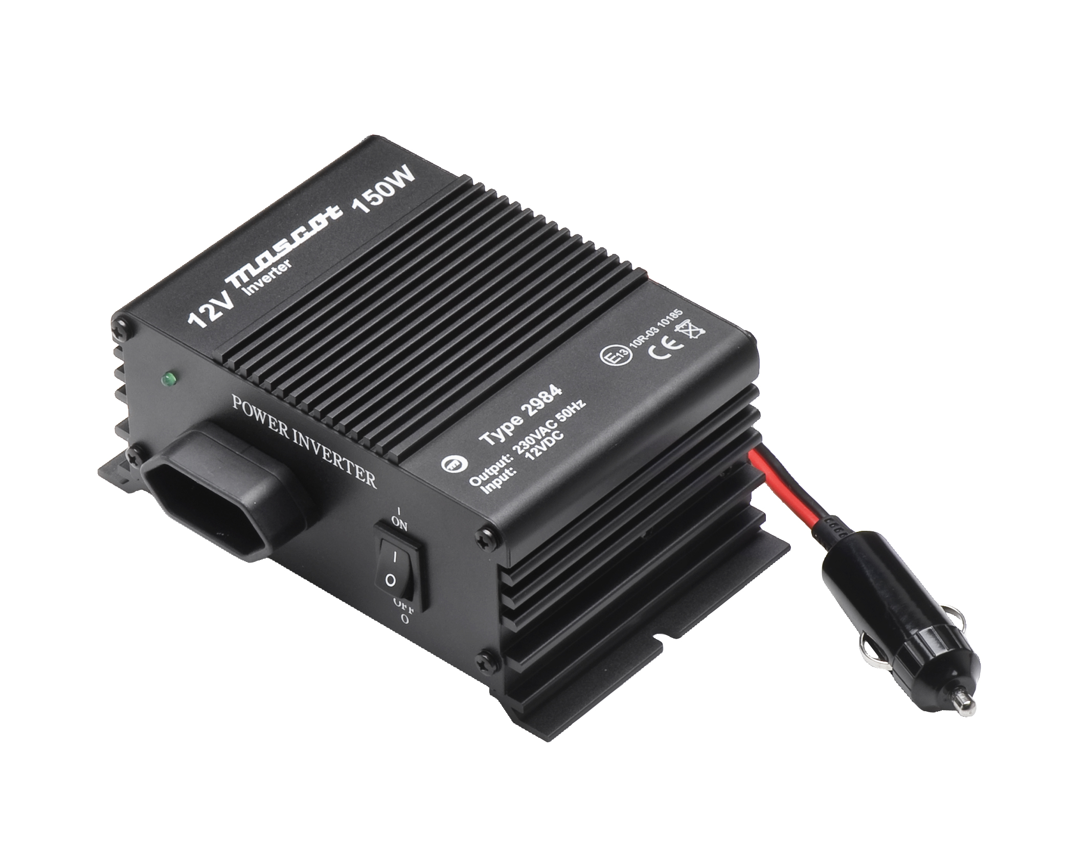 Dc Ac Inverters 12 Volt To Power Inverter Model 2984 150 W Max Out 24 Vdc Input